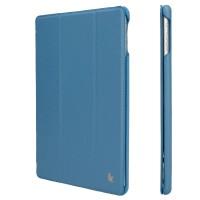 Чехол JisonCase Ultra Thin Smart Case Blue для iPad 2017