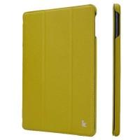 Чехол JisonCase Ultra Thin Smart Case Green для iPad 2017