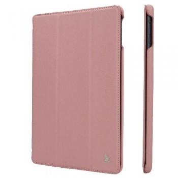 Чехол JisonCase Ultra Thin Smart Case Pink для iPad 2017