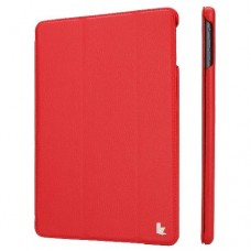Чехол JISONCASE Ultra-Thin Smart Case для iPad 2017 Red