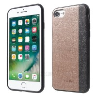Чехол пластиковый DEU Oriental Floral Leather Skin Plastic TPU Rose Gold для iPhone 7/8