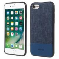 Чехол тканевый DEU TPU PC Hybrid Blue для iPhone 7/8