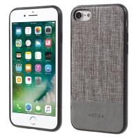 Чехол тканевый DEU TPU PC Hybrid Grey для iPhone 7/8
