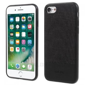 Чехол тканевый DEU TPU PC Hybrid Black для iPhone 7/8