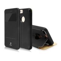 Чехол-книжка кожаная Baseus Simple Black для Apple iPhone 7/8
