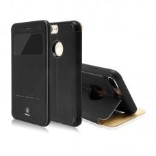 Чехол-книжка кожаная Baseus Simple Black для Apple iPhone 7/8 plus