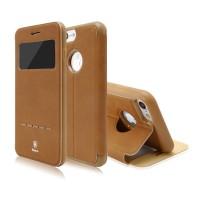 Чехол-книжка кожаная Baseus Simple Brown для Apple iPhone 7/8