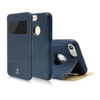 Чехол-книжка кожаная Baseus Simple Navy для Apple iPhone 7/8