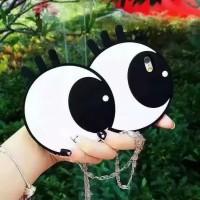 Чехол силиконовый Big Eyes для iPhone 7/8