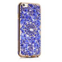 Чехол WK Floveme Sunflower Blue Gold для Apple iPhone 7/8