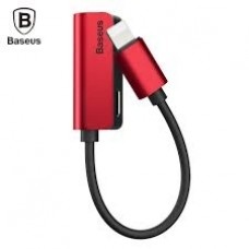 Кабель-переходник Baseus L32 Lightning 3.5 mm to Lightning Red для iPhone/iPad/iPod