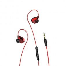 Наушники Baseus Encok Wire Earphone H05 NGH05-01 Red