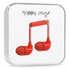 Наушники Happy Plugs Headphones In-Ear Cerise 7716 Red