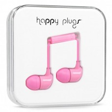 Наушники Happy Plugs Headphones In-Ear Cerise 7717 Light Pink