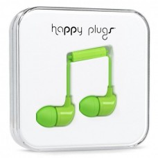 Наушники Happy Plugs Headphones In-Ear Cerise 7719 Green