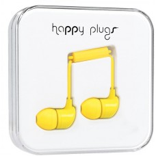 Наушники Happy Plugs Headphones In-Ear Cerise 7721 Yellow
