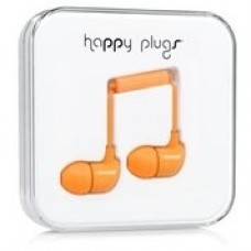 Наушники Happy Plugs Headphones In-Ear Cerise 7723 Orange