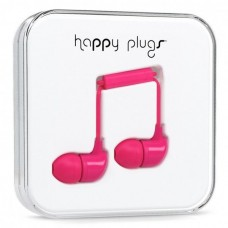 Наушники Happy Plugs Headphones In-Ear Cerise 7724 Pink