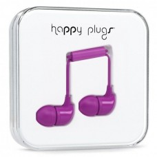 Наушники Happy Plugs Headphones In-Ear Cerise 7725 Violet