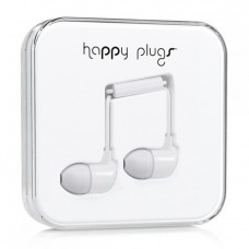 Наушники Happy Plugs Headphones In-Ear Cerise 7726 White