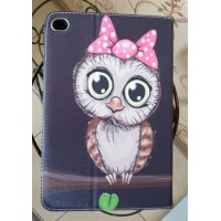 Чехол Cartoon Case Bird Owl Black для iPad Mini 4