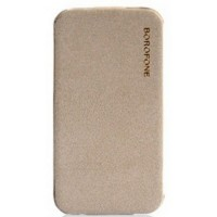 Чехол Borofone Explorer Leather Case Grey для iPhone 4/4S