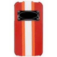 Чехол HOCO Marques Fashion Leather Case Red для iPhone 4/4S