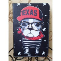 Чехол Cartoon Case Texas Dog Black Red для iPad Mini 4