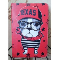 Чехол Cartoon Case Texas Dog Red для iPad Mini 4
