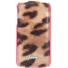 Чехол Viva LUJO Leopardo LEO dot Yellow для iPhone 4/4S