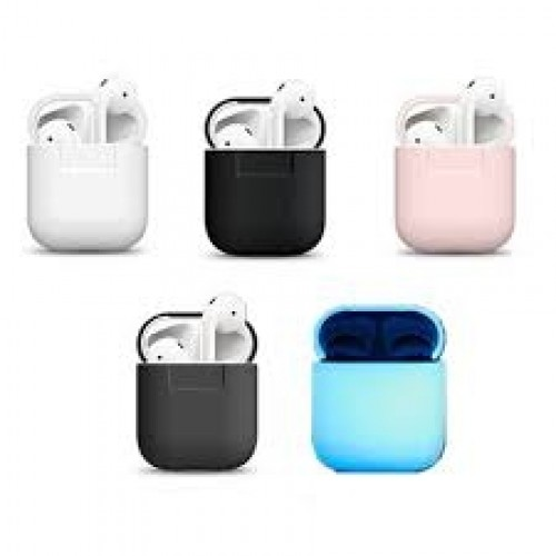 quality design 5dd0a e8332 Чехол силиконовый Elago Silicone Case Light Pink для Apple Airpods
