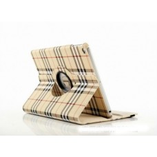 Чехол 360° Rotating Stand Case Burberry White для iPad 4/ iPad 3/ iPad 2