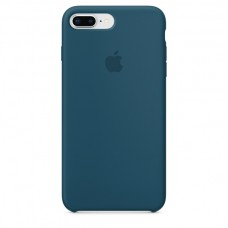 Чехол силиконовый Apple Silicone Case Cosmos Blue для iPhone 6/6S Plus