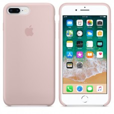 Чехол силиконовый Apple Silicone Case Pink Sand для iPhone 6/6S Plus