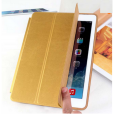 Чехол Apple Leather Smart Case Gold для iPad Pro 9,7""