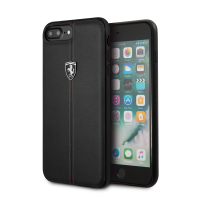 Чехол CG Mobile Ferrari Genuine Leather Heritage черный для iPhone 8 Plus/7 Plus