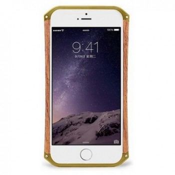 Чехол пластиковый Element Case Ronin First Edition Gold/Wood для iPhone 6/6s