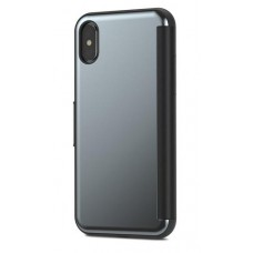 Чехол-книжка пластиковая Moshi StealthCover Slim Folio Case Gunmetal Gray для iPhone X/XS