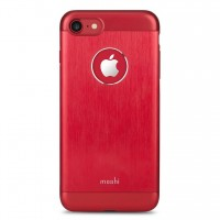 Чехол алюминиевый Moshi iGlaze Armour Metallic Case Crimson Red для iPhone 7/8