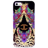 Чехол PURO JUST CAVALLI Wings Purple для iPhone 6/6S