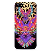 Чехол PURO JUST CAVALLI Wings Black для iPhone 6/6S