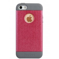 Чехол силиконовый Yoobao Amazing Protecting case Rose для iPhone 5/5S