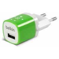 Зарядное устройство Belkin Home Charger 1 USB Port 5Watt/1 Amp Green для iPhone/iPod