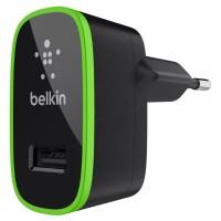 Сетевое зарядное устройство Belkin Home Charger 1USB Port 10Watt 2.1 Amp Black для iPhone/смартфона/планшета