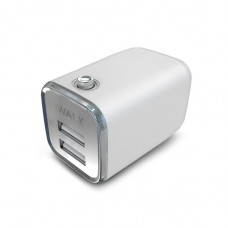 Сетевое зарядное устройство iWalk DOLFIN 2USB 2.1 A White для iPhone/iPad/смартфона/планшета