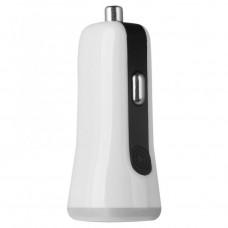 Автомобильное зарядное устройство Baseus Tiny-Color 2 USB White для смартфона/планшета