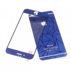 Стекло защитное Tempered Diamond 3D Effect Blue для iPhone 6/6s