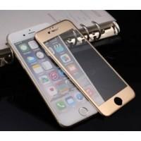 Защитное стекло 3D Gold для Apple iPhone 6/6s