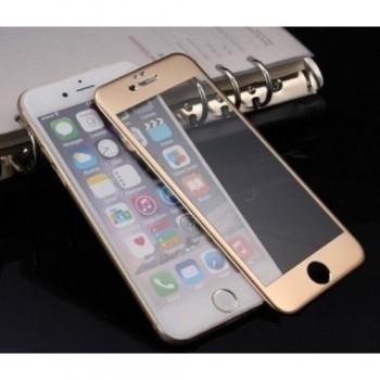 Защитное стекло 3D Glass Gold для Apple iPhone 6/6s