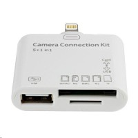 Адаптер-переходник Camera Connection Kit 5 + 1 in 1 Lightning White для Apple iPhone/iPad